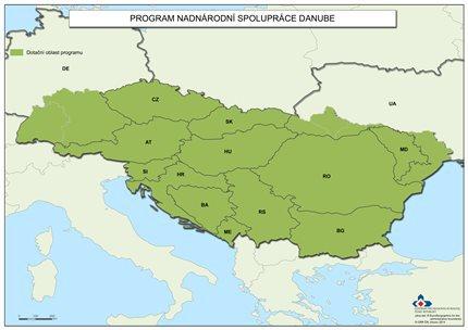 Státy Dunajského regionu